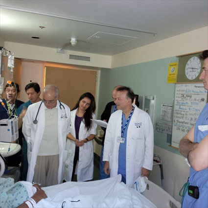 The UCSF Kidney Transplant Team's final visit