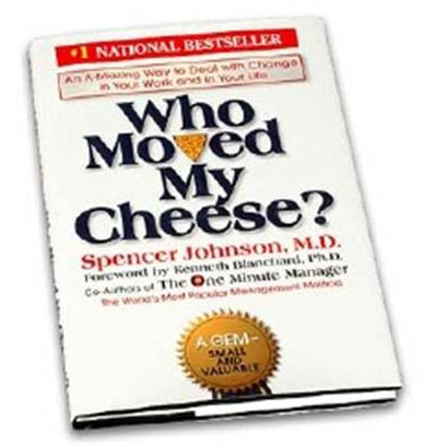 a review of spencer johnsons who moved my cheese An indepth review of the book who moved my cheese written by spencer  johnson and reviewed by timothy aderemi.